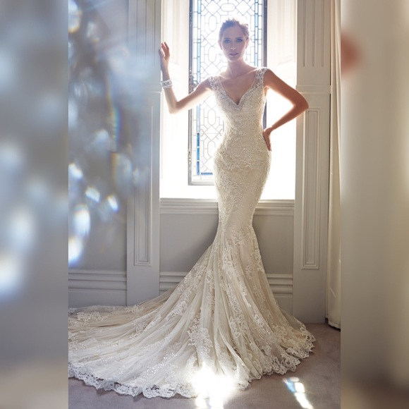 Sophia Tolli Dresses Lace Wedding Gown Poshmark